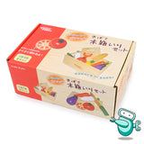[HOT] ウッディプッディWooden Cutting Vegetable Set
