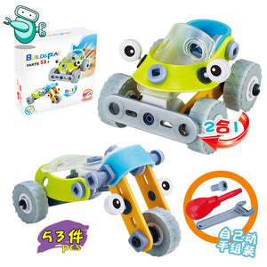 2-in-1 Build & Play (53pcs)