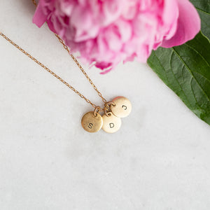 Hand Stamped Necklace | Collection Charm Necklace