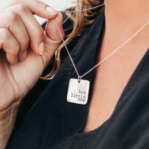 Hand Stamped Custom Necklace | Personalized Necklace