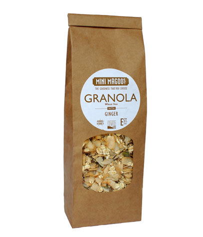 Organic Granola with Ginger