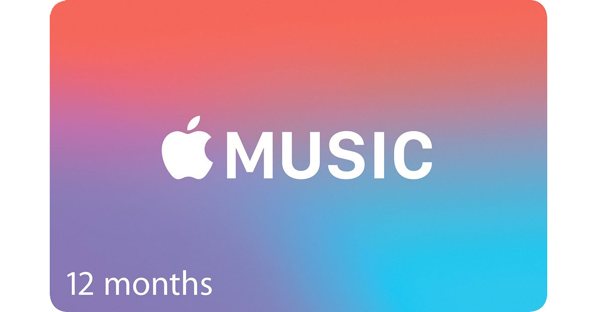 Apple Music 12 Months Subscription