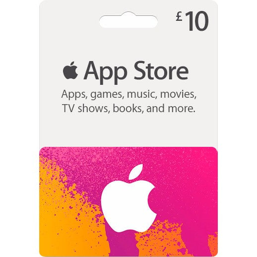 Apple iTunes Gift Cards £10