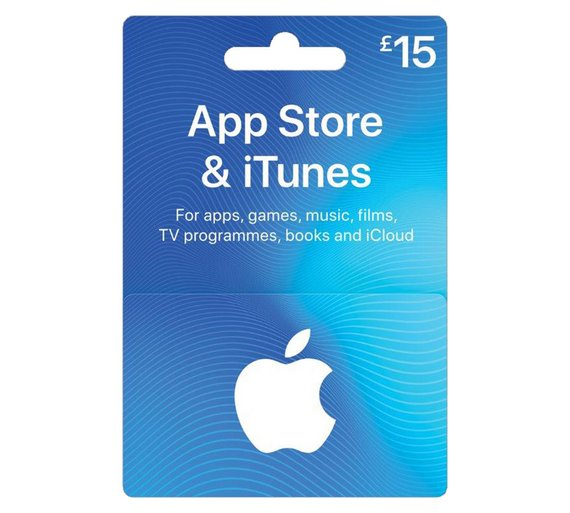 Apple iTunes Gift Cards £15