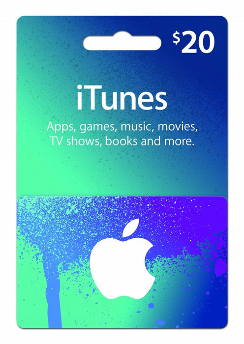 Apple iTunes Gift Cards $20