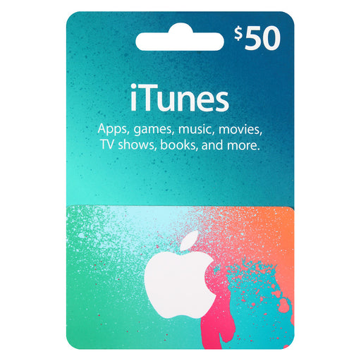 Apple iTunes Gift Cards $50
