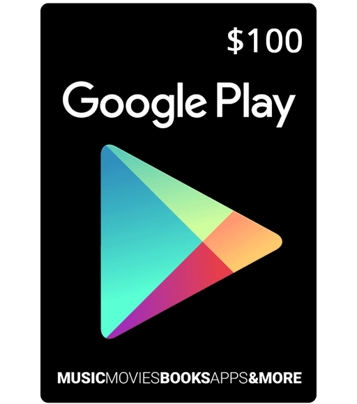 Google PlayStore Gift Card $100