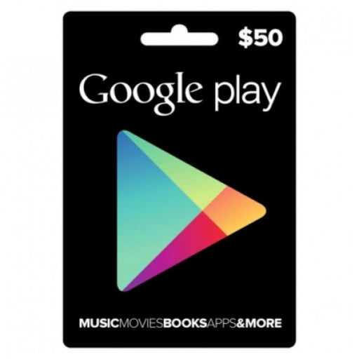 Google PlayStore Gift Card $50