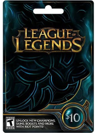 League of Legends 10€