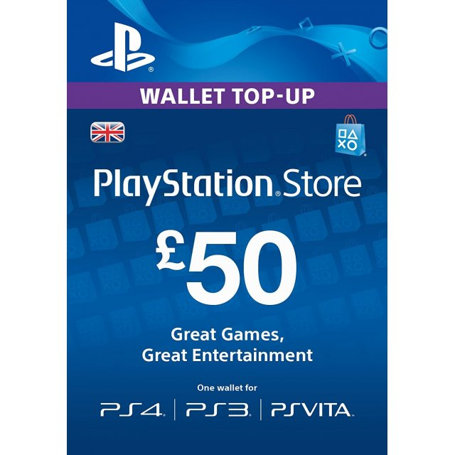 PlayStation Network 50 GBP
