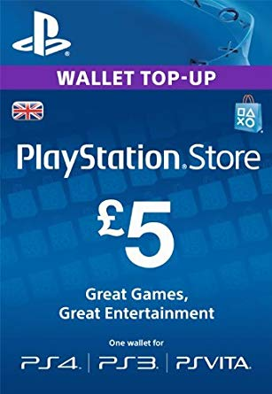 PlayStation Network 5 GBP