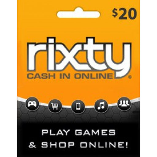 Rixty Gift Cards $20