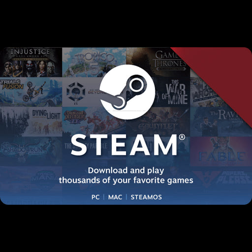Steam Store Gift Card SAR20