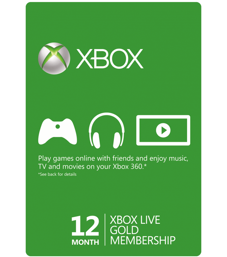Xbox 12 Months Subscription