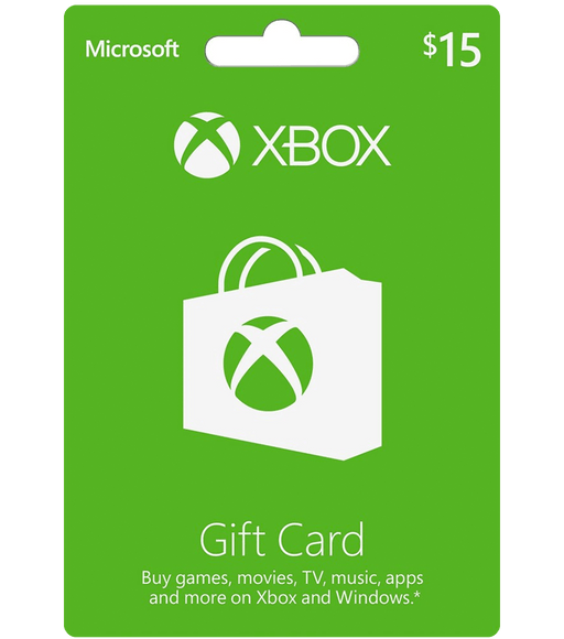 Xbox Store Gift Card $15