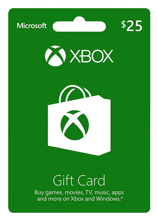 Xbox Store Gift Card $25