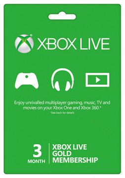 Xbox 3 Months Subscription