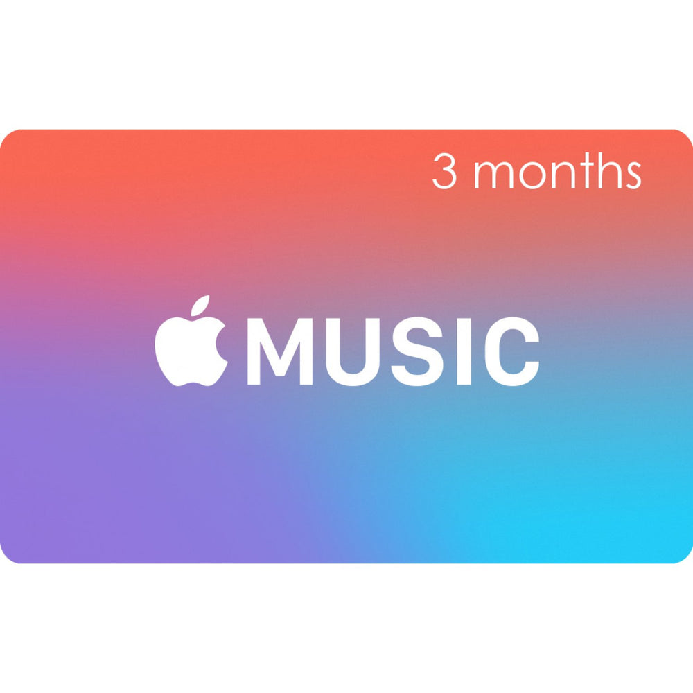 Apple Music 3 Months Subscription