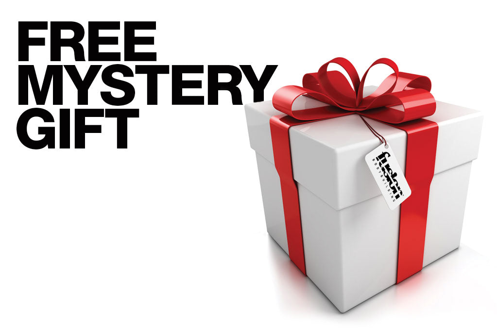 FREE Mystery Gift – FUSION BODYBUILDING