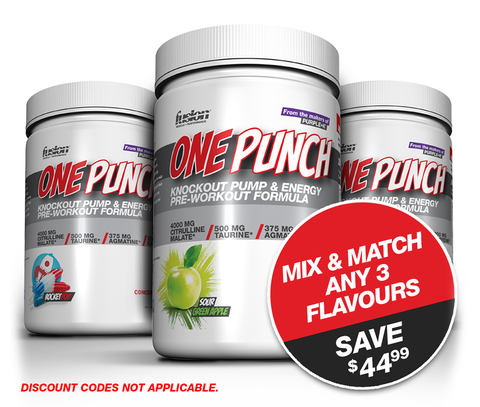 ONE PUNCH - Introductory 3-Pack Stack!