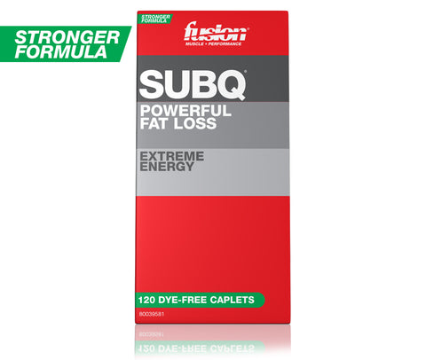 SUBQ - POWERFUL FAT LOSS - 120 DYE-FREE CAPLETS