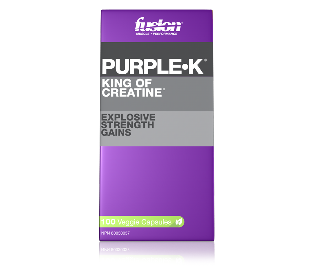 PURPLE•K - 100 VEGGIE CAPSULES – FUSION® | MUSCLE • PERFORMANCE