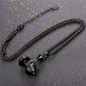 Deluxe Dumbbell Necklace | BigGymStore.com - biggymstore