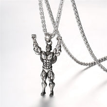 Load image into Gallery viewer, Deluxe Mens Fitness Pendant | BigGymStore.com - biggymstore