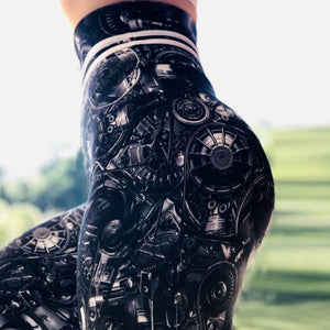 Machine Super Heroine Yoga Pants | BigGymStore.com - biggymstore