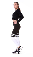 Load image into Gallery viewer, Comfort Stripes Yoga Pants | BigGymStore.com - biggymstore