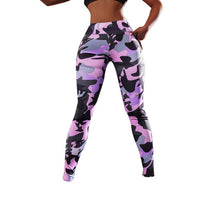 Load image into Gallery viewer, Multi Camo Yoga Pants | BigGymStore.com - biggymstore