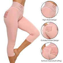 Load image into Gallery viewer, High Waist Line Banded Yoga Pants | BigGymStore.com - biggymstore