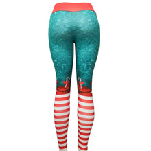 Load image into Gallery viewer, Festive Christmas Yoga Pants | BigGymStore.com - biggymstore