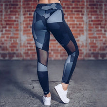 Load image into Gallery viewer, Geometric Camo Yoga Pants | BigGymStore.com - biggymstore