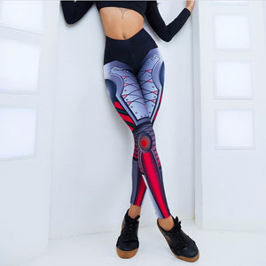 Blue Steel Machina Yoga Pants | BigGymStore.com - biggymstore