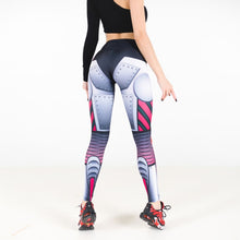 Load image into Gallery viewer, Blue Steel Machina Yoga Pants | BigGymStore.com - biggymstore