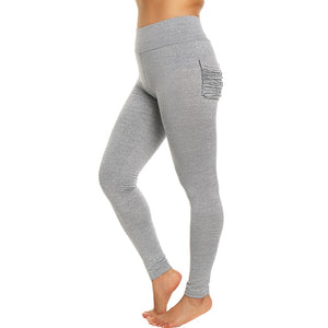 The Freedom Crinkled Pocket Yoga Pants - biggymstore