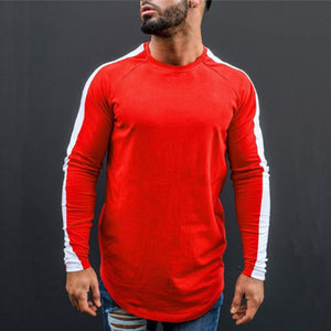 Long Sleeve Block Stripe Sweatshirt | BigGymStore.com - biggymstore