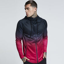 Load image into Gallery viewer, Ice Cold Gradient Hooded Zipper Jacket | BigGymStore.com - biggymstore