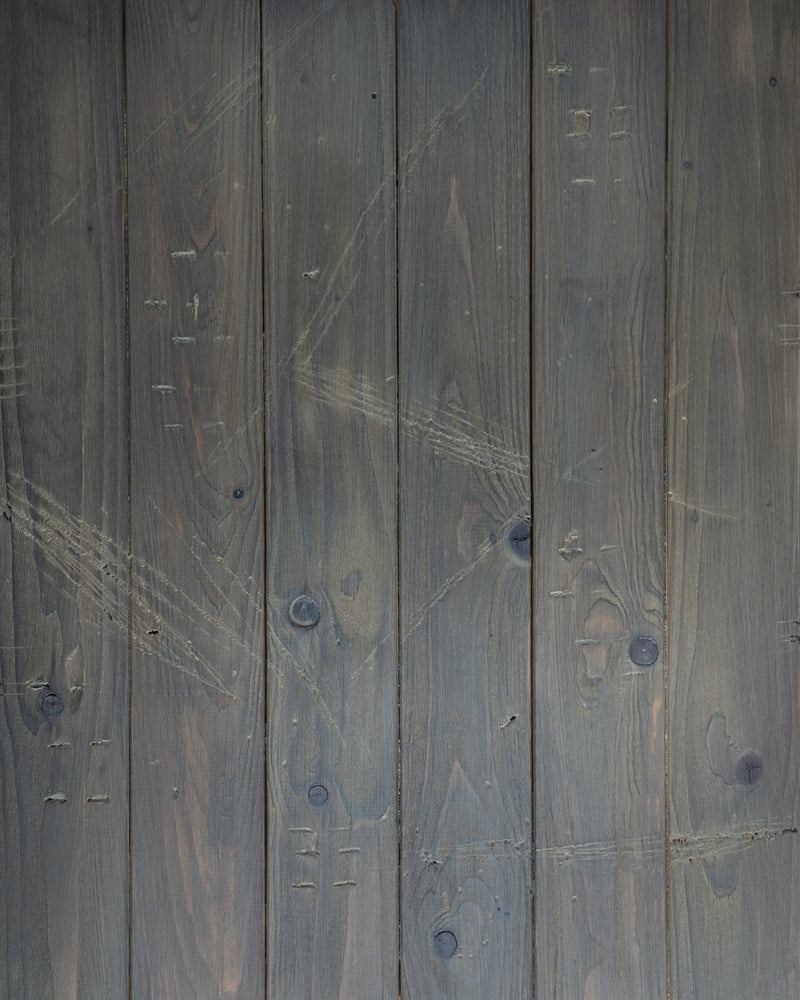 Verwitterter Backdrop in braun grau altes Holz Design