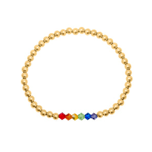 caitlin nicole jewelry rainbow bar bracelet