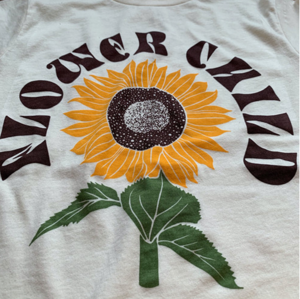 rivet apparel co. flower child tee