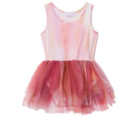 iloveplum b.a.e. watercolor tutu in poppy orange