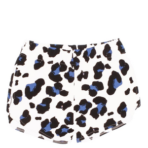 joah love surf short in white cheetah