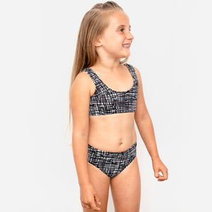 current label swim isla signature bikini in tangled