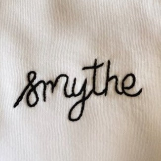 hand embroidered custom phrase ( <14 characters)