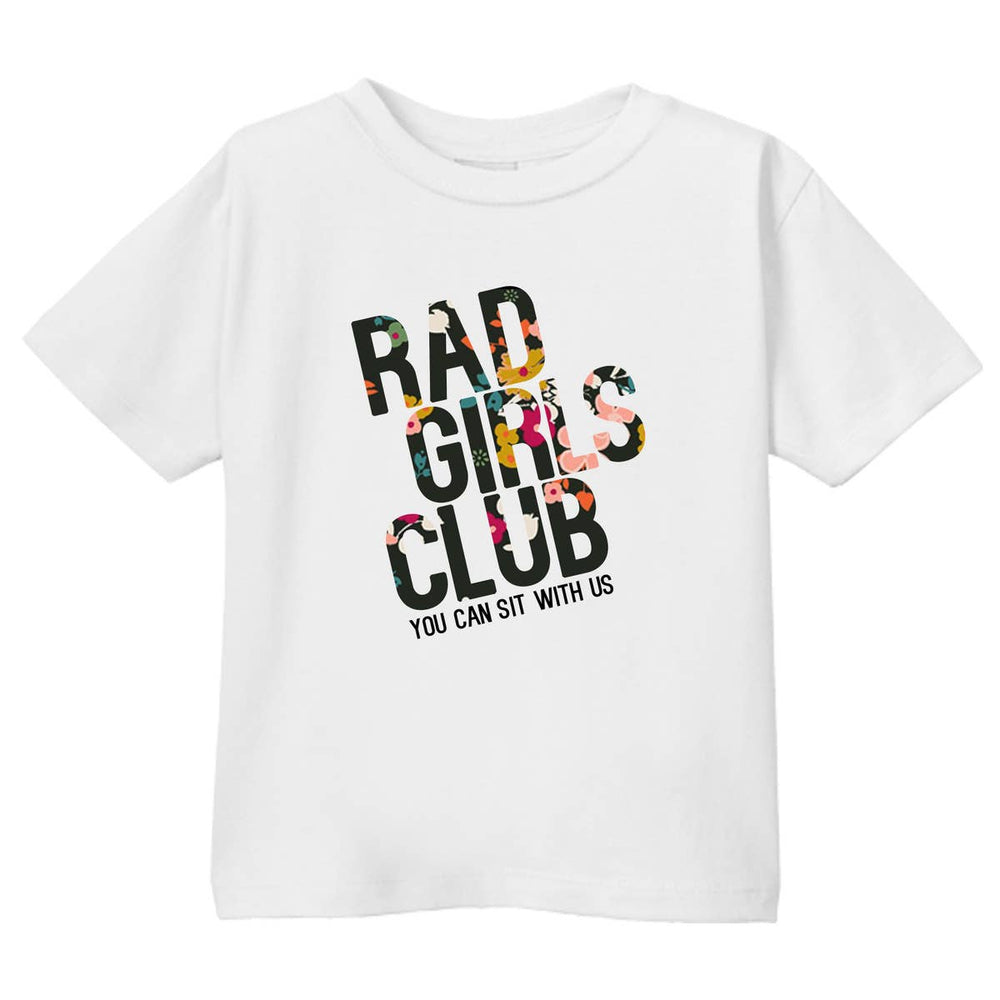 disco panda kids 'rad girls club' tee