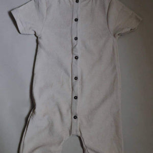 eorthe baby & kids terry jumpsuit in wheat