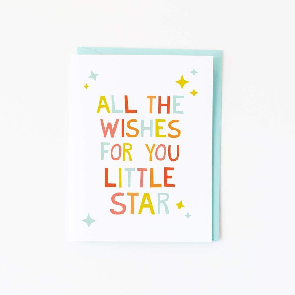 graphic anthology little star card