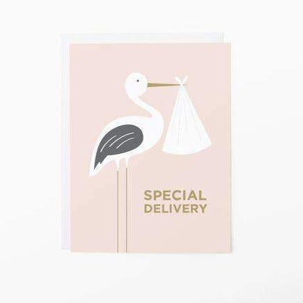graphic anthology special delivery greeting card